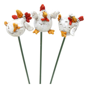 Blompinne med Höna - 1-pack
