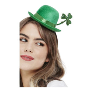 Bowlerhatt Mini St Patricks Day Grön - One size