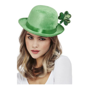 Bowlerhatt St Patricks Day Grön - One size