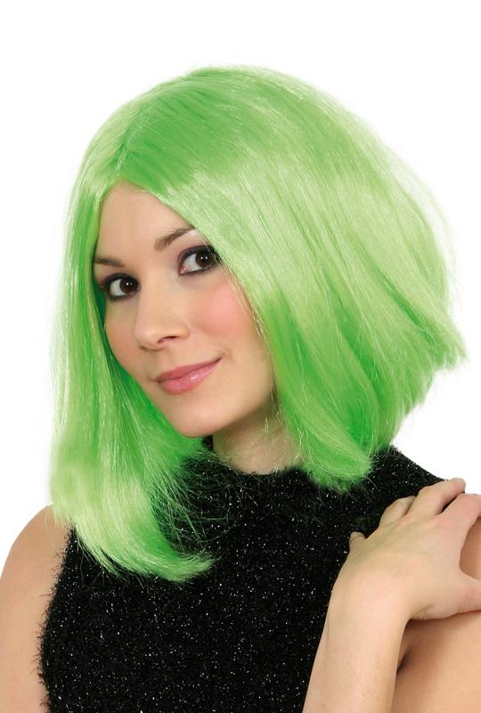Celebrityperuk grön