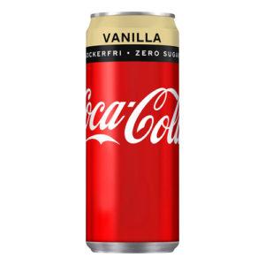 Coca-Cola Vanilla Zero - 20-pack (Hel platta)