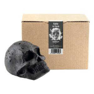 Dödskalle Grillbriketter - 1-pack XL Dödskalle