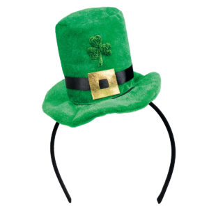 Diadem minihatt St Patricks Day