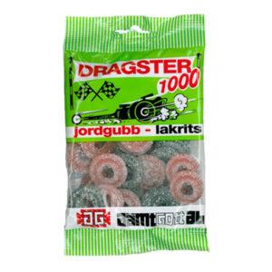 Dragster Jordgubb/Lakrits - 1-pack