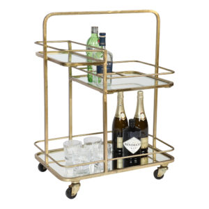 Drinkvagn Guldplätterad