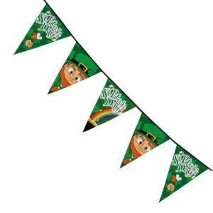Flaggirlang St. Patrick's Day