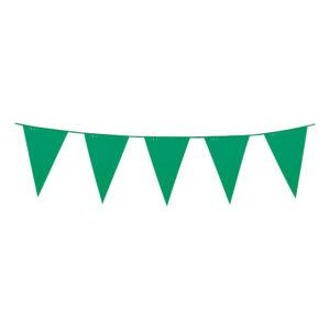 Flaggirlang Stor Grön
