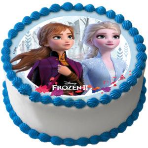 Frozen 2 Tårtbild