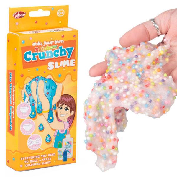 Gör Ditt Eget Crunchy Slime Kit