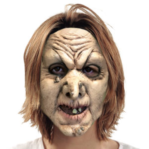 Gammal Häxa Mask Latex