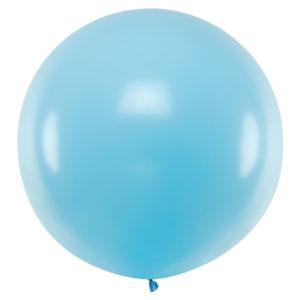 Gigantisk Latexballong Pastellblå