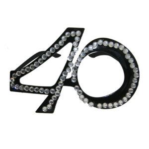 Glasögon 40 svarta