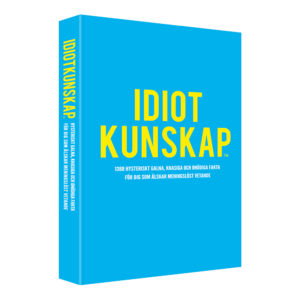 Idiotkunskap Bok