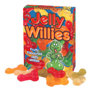 Jelly Willies Snoppgodis - 120 gram