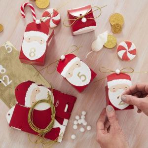 Jultomte Adventboxar