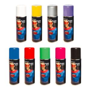 Kroppsfärg Spray - Gul