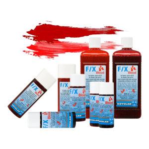 Kryolan F/X Blod - 500 ml Klarröd