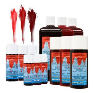 Kryolan Transparent Blod - 500 ml Mörk
