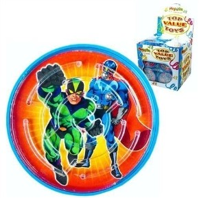 Kulspel Superhjälte