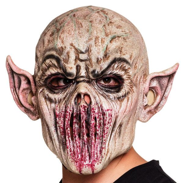 Läskig Alien Latex Mask