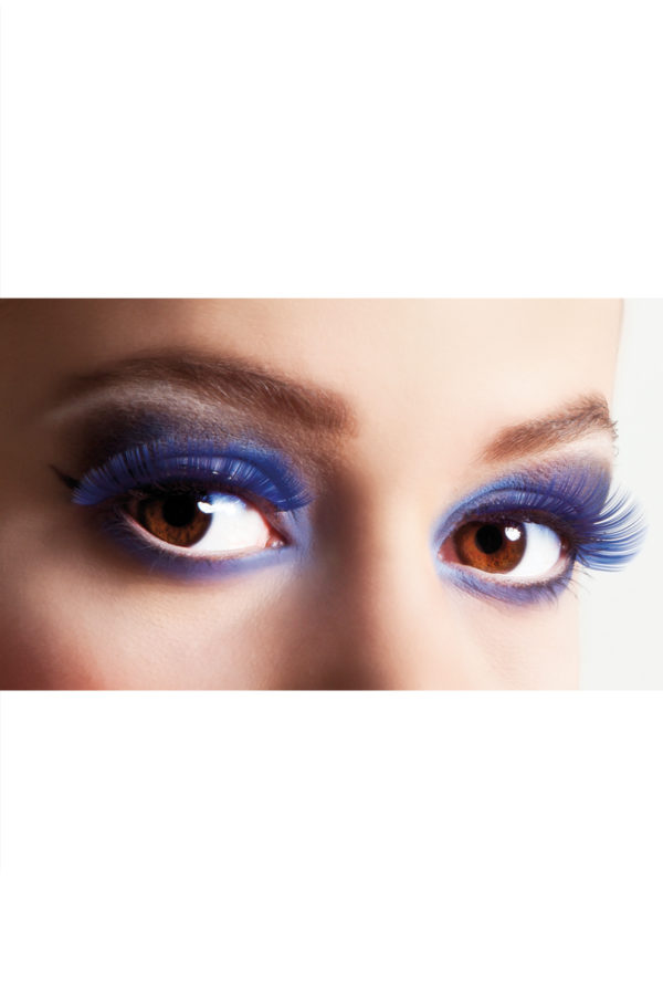 Lösögonfransar basic blå