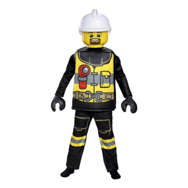 LEGO Brandman Deluxe Barn Maskeraddräkt - Large