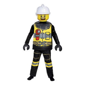 LEGO Brandman Deluxe Barn Maskeraddräkt - Medium