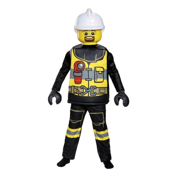 LEGO Brandman Deluxe Barn Maskeraddräkt - Small