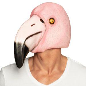 Mask flamingo