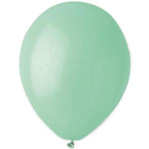 Mintgröna Latexballonger (10-pack)