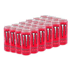 Monster Energy Ultra Red - 24-pack (Hel platta)