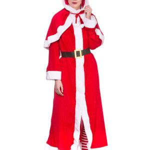 Mrs Santa Claus Dräkt Deluxe