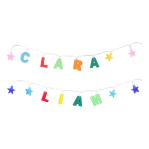 Namngirlang med LED-Belysning - Alicia
