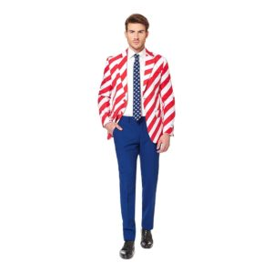 OppoSuits United Stripes Kostym - 48