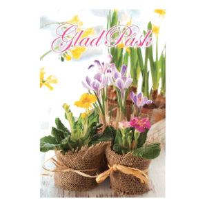 Påskkort Glad Påsk Liljor