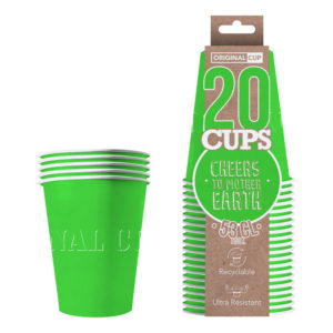 Partycups Papper Grön - 20-pack