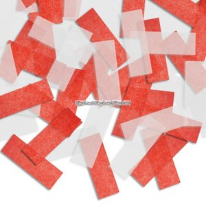 Pinatakonfetti - röd & vit