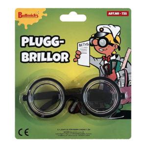 Pluggbrillor Skämtartikel