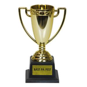 Pokal med Text - Bäst på fest