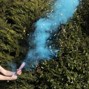 Rökkanon Gender Reveal - Blå
