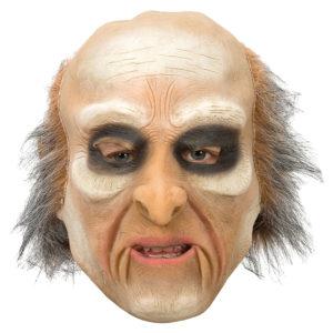 Rynkig Gammal Gubbe Latex Mask