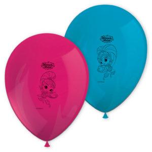 Shimmer och Shine Glitter Friends Ballonger