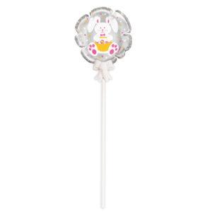 Självuppblåsande Folieballong Påsk Kanin