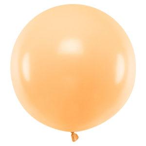 Stor Latexballong Pastellorange