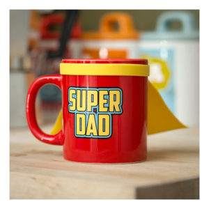 Super Dad Mugg med Cape