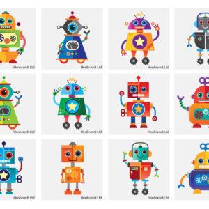 Tatueringar Robot