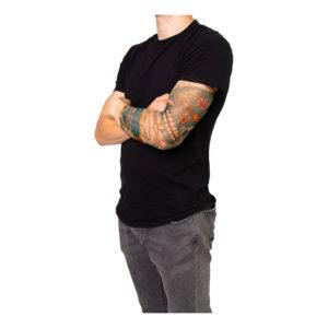 Tatueringsärmar Dia de Los Muertos - 1-pack