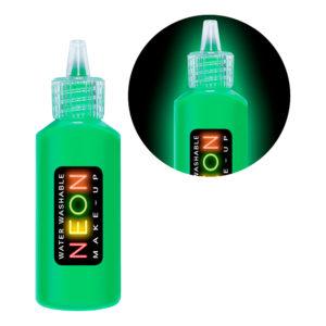 UV Neon Färg på Tub - Grön
