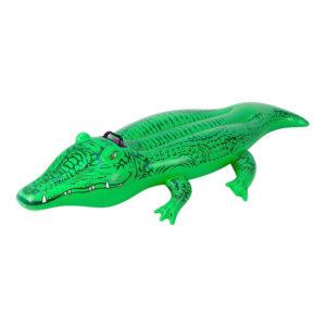Uppblåsbar Aligator Badmadrass