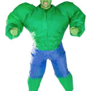 Uppblåsbar Hulken Dräkt